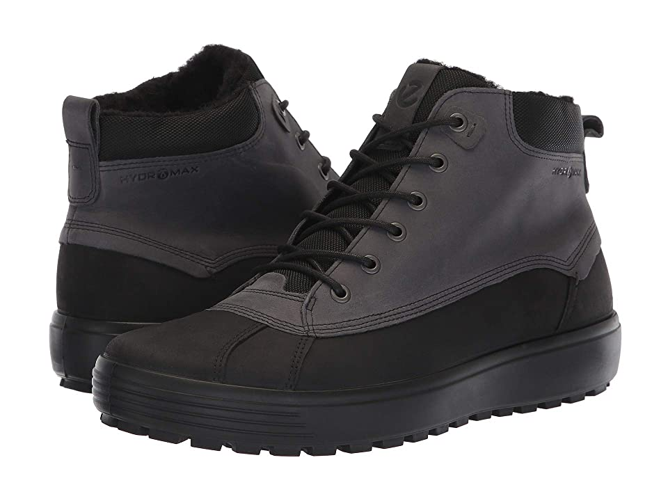 ECCO Soft 7 Tred Hydromax High (Black/Black) Men
