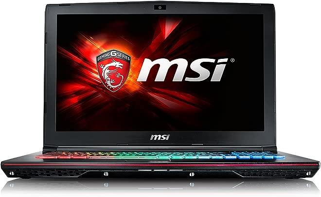 MSI GE62-6QF81FD 39 6 cm  15 6 Zoll  Laptop  Intel Core i7 -6700HQ  Skylake   8GB DDR4 RAM  1TB HDD  NVIDIA Geforce GTX 970M  kein Betriebssystem  schwarz