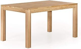 Marque Amazon -Alkove Hayes - Table de salle à manger fixe au style classique, 130x90x77cm, Chêne sauvage