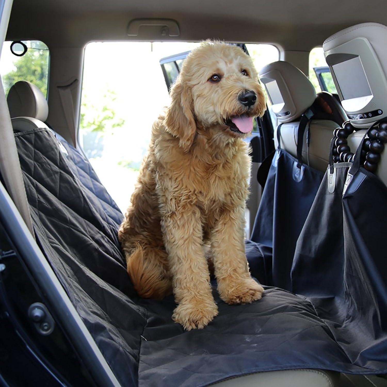 Pet Seat Cover, Black Heavy Waterrepous Hammock Slippery Extra Side Cover Can Be Ma ne Wasable saldamente applicabile alla maggior parte dei modelli.