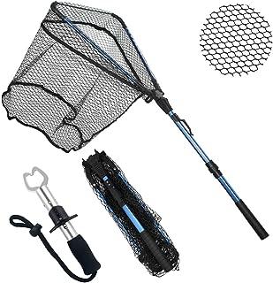 ZHENDUO OUTDOOR Fishing Net Fishing Landing Net...