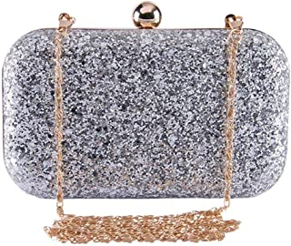 REGMESS Girl's Clutch for office/party/shopping women hand bag -Black