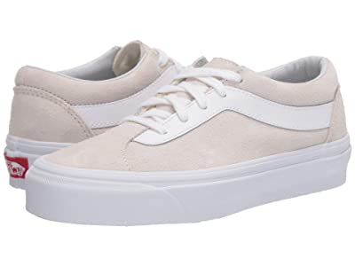 Vans Bold Ni ((Suede) Marshmallow/True White) Athletic Shoes