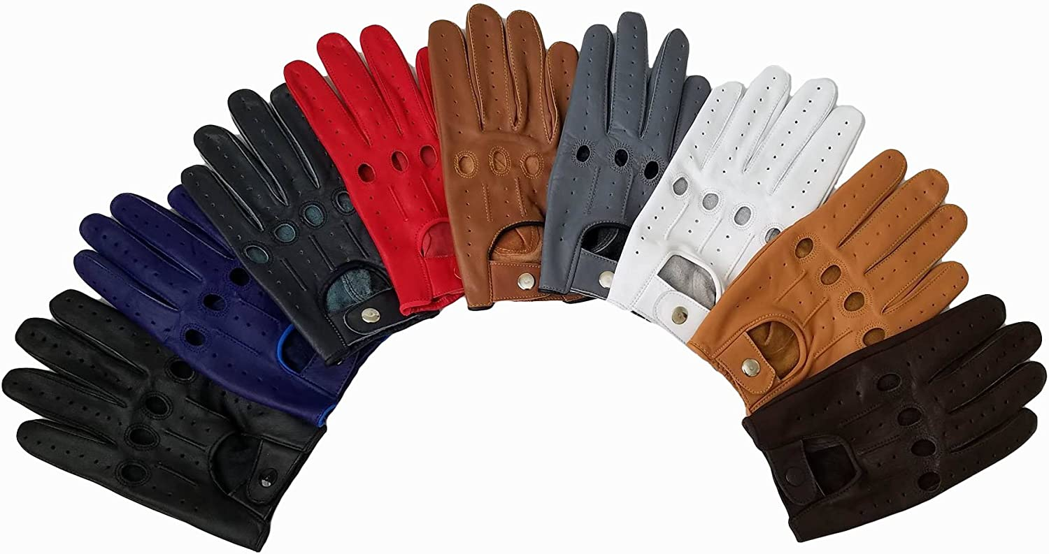Genuine Leather Popular shop is the lowest price challenge Driving New arrival MEDIUM Gloves BROWN