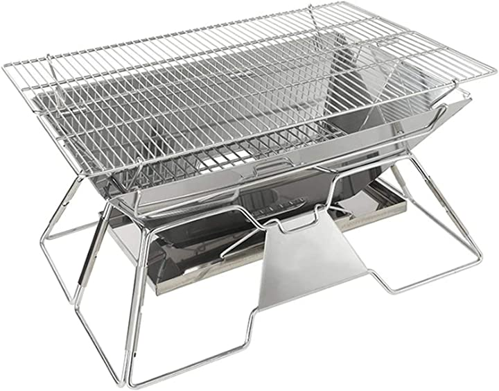 Barbecue a carbonella grande grande barbecue in acciaio inox baoypp B08YVKNWTR