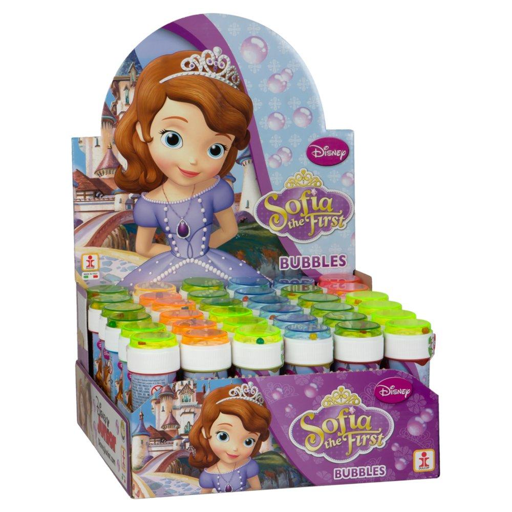 ColorBaby - Caja pomperos Princesa Sofia con 36 Unidades de 60 ml (23998): Amazon.es: Juguetes y juegos