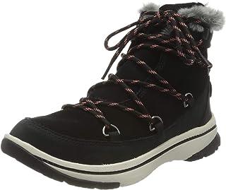 حذاء نسائي من Roxy Decland مقاوم للماء من الجلد السويدي الأنيق