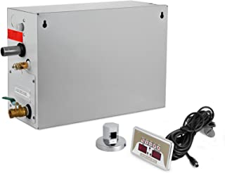 Happybuy Steam Generator 9KW Steam Showers 220V-240V Sauna Steam Generator with Programmable Controller for Home SPA Bathroom Hotel Shower Steam(Controller Not Contain Battery)