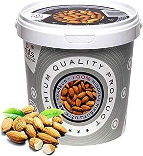 ''PuNuts'' Mantequilla de Almendras, Textura Crujiente, Sin Grasa de Palma, 100% Natural Almond Butter 1kg (Almendras)