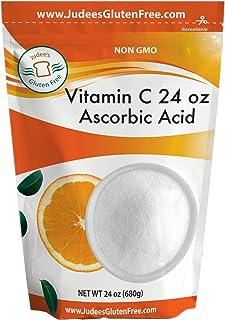 Judee's 100% Pure Vitamin C Powder 24 Oz (L - Ascorbic Acid) (11.25 Oz Size Also) - Immune Support & Antioxidant Supplemen...