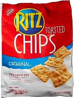 Ritz Toasted Chips - Main Street, Original - 8.10 Ounces