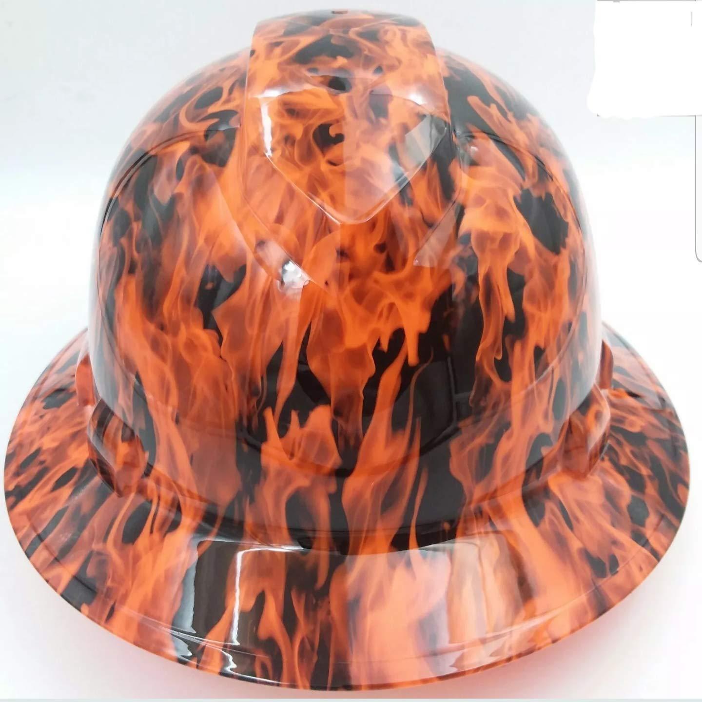 Wet Works Imaging Max 71% OFF Customized Pyramex Full Wic Hi Vis Orange Genuine Brim