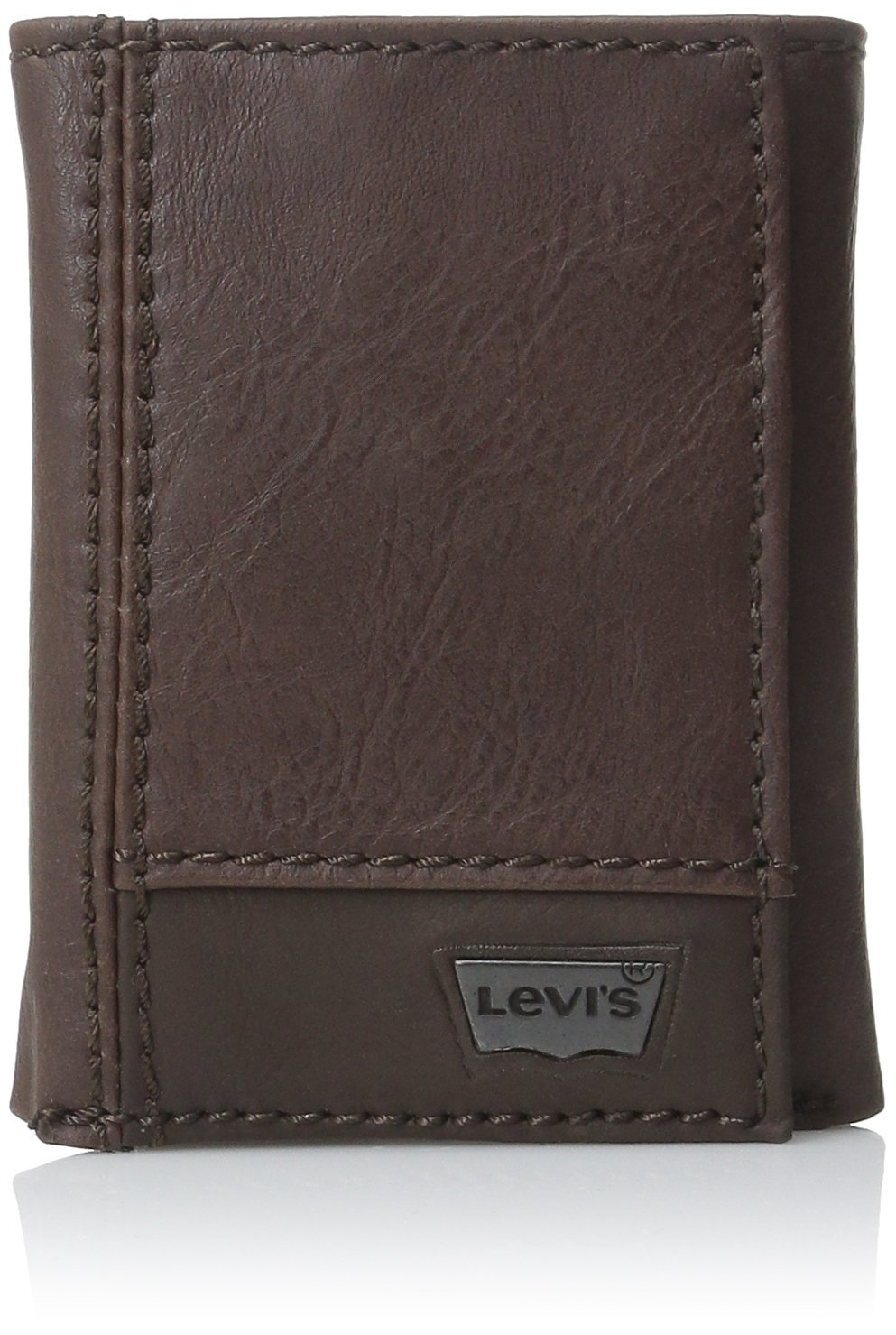 Levis Mens Trifold Wallet Leather