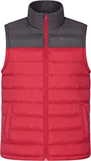 Men//Boys Autumn Hooded Sleeveless Down Vest Winter Lightweight Warm Jacket Coat Body Warmer Ideal for Outdoor TeamWorld Mens Padded Down Gilets