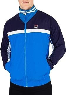 Fila Men's Diego Panelled Track Jacket, Blue