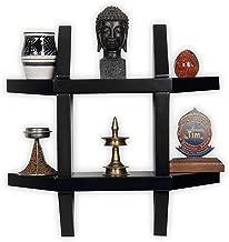 Woodkartindia Aldo Wall Shelf for Home Decor, Living Room Decor, Floating Shelf