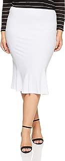 My Size Women's Plus Size The Flip Skirt