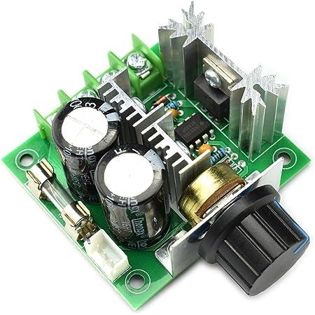 2V-40V 10A PWM DC Motor Speed Controller Dimmer Voltage Regulator
