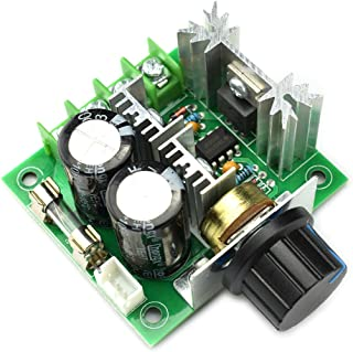 DZS Elec 10A 12V-40V DC Motor Speed Controller 12V 24V PWM Variable Speed Regulator Governor Switch CCMHCN With Speed Control Knob