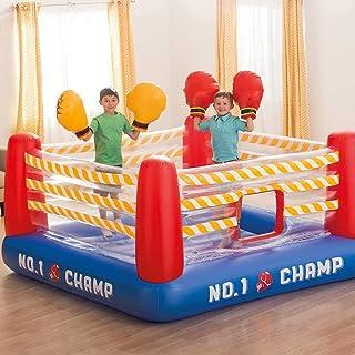 نطاط جامبولين للاطفال علي شكل حلبة ملاكمة - متعدد الالوان