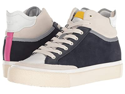 rag & bone RB Army High Sneaker (Navy Combo) Women