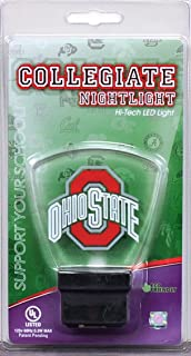 Authentic Street Signs 2-Pack NCAA Officially Licensed, LED Night Light, Super Energy Efficient-Prime Power Saving 0.5 watt,Great Sports Fan Gift for Adults-Babies-Kids
