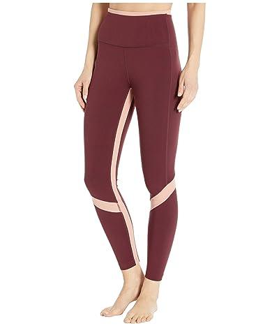New Balance Transform High-Rise 7/8 Pocket Tights (NB Burgundy) Women