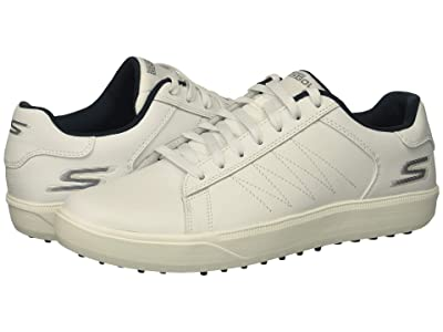 Skechers GO GOLF Drive 4 (White/Navy) Men