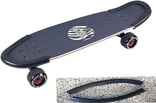 DreamFire Skateboard Nail Guard Tail Guard Edge Protection Edge Rubber Strip Long Deck Edge محافظ مخصوص کودکان ، پسران ، دختران ، جوانان ، مبتدیان