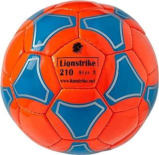 Lionstrike Soccer Ball Size 3 Lite for Kids 3-7yrs