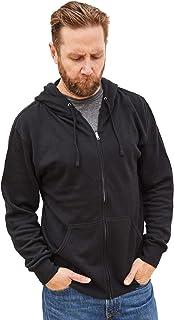 Sponsored Ad - Klothwork Men's Lightweight Full Zip HoodieLong Sleeve Hooded Sweatshirt