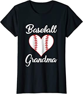 Womens Grandma Loves Baseball Shirt