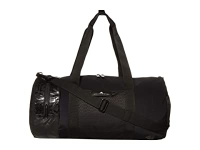 adidas by Stella McCartney Printed Round Duffel S FP8428 (Black/Black/White) Duffel Bags
