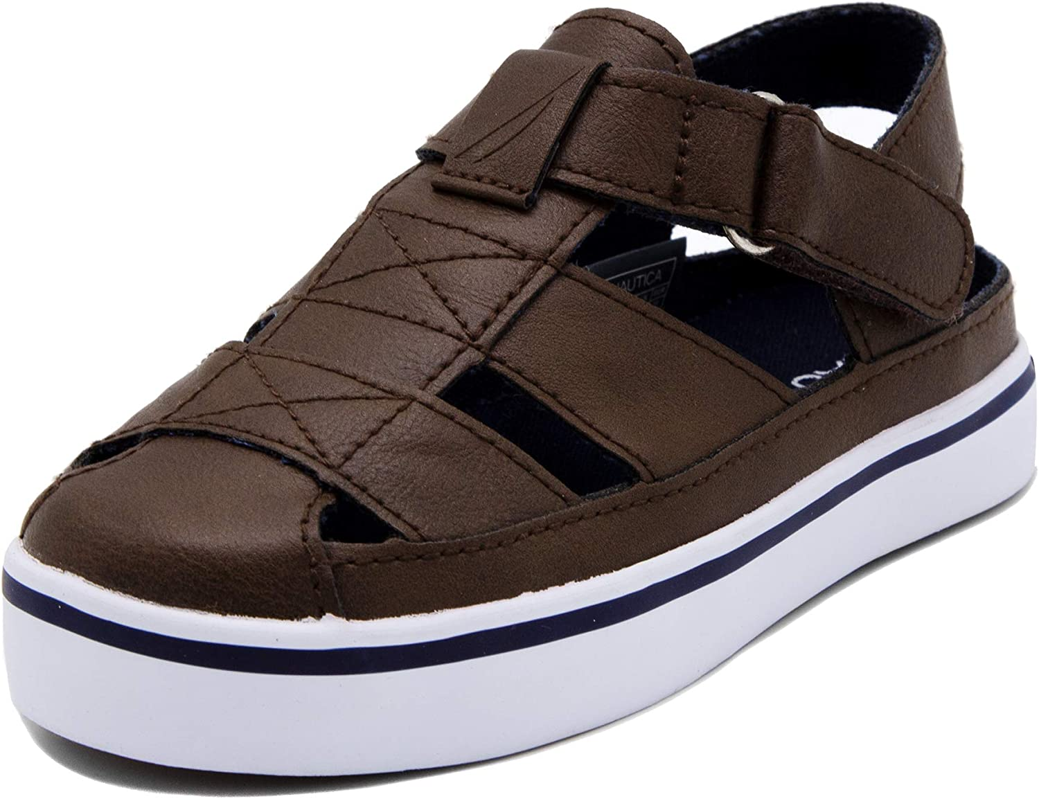 Nautica Kids Mikkel Closed-Toe Outdoor Sport Casual Sandals  Boy - Girl (Youth/Big Kid/Little Kid/Toddler)
