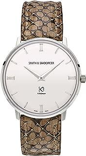 Smith & smoorcer fisherman snowy viper stone F-1617-VIP-P-B-07 Mens swiss-quartz watch