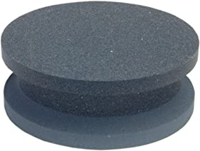 Norton 61463687570 Crystolon Machine Knife Stone; Coarse Grit Side For Sharpening and  Fine Side For Honing; Feature Groove Around the Middle To Secure Hold; Built For Use in Paper and Cloth Cutting Shops