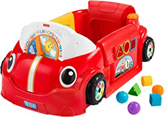 Fisher-Price Laugh & Learn Crawl Around Car Activity Center [Amazon Exclusive], Multi