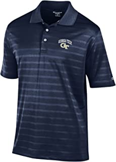 NCAA Champion Men's Textured Solid Polo