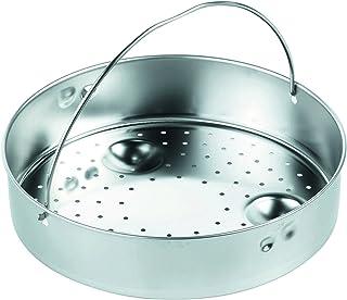KUHN RIKON 2034 Rejilla apilable para cocinar al Vapor, Gris, 22 cm
