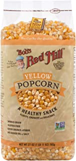 Bob's Red Mill Whole Yellow Popcorn, 27 Oz (4 Pack)
