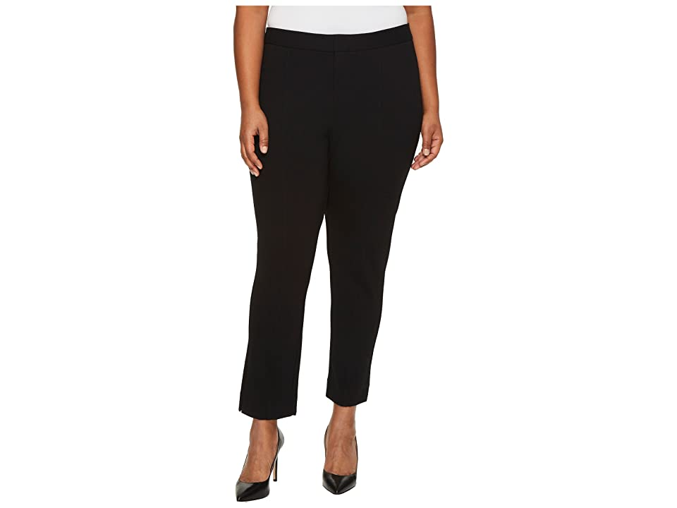 57c790bd596 NYDJ Plus Size Plus Size Ponte Ankle Pants in Black (Black) Women