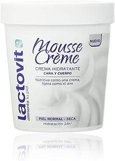 Lactovit – Mousse Crème Hidratante Nutritiva para Cuerpo y Cara. Hidratación 24h. Para Pieles Normales y Secas – 250ml