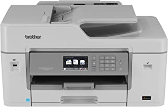 Brother MFC-J6535DW All-in-One Color Inkjet Printer, Wireless Connectivity, Automatic Duplex Printing, Amazon Dash Replenishment Enabled