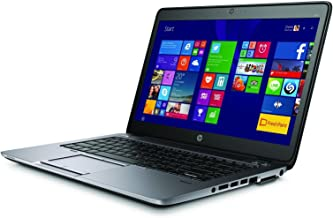 HP EliteBook 840 G2 Notebook PC - Intel Core i5-5200U 2.3GHz 8GB 256GB SSD Webcam Windows 10 Professional (Renewed)