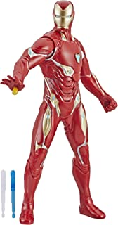 Avengers Marvel Endgame Repulsor Blast Iron Man 13-Inch-Scale Figure Featuring 20+ Sounds and Phrases