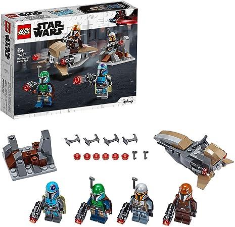 LEGO75267StarWarsPackdeCombate:MandalorianosJuguetedeConstrucción