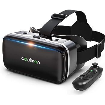 【令和進化型VRゴーグル】 VRヘッドセット VRヘッドマウントディスプレイ 超広角120° Bluetoothリモコン付 焦点距離&瞳孔間距離調整可 4.7-6.5インチスマホ対応 遠視/近視適用 3Dグラス 非球面光学レンズ メガネオン人対応 装着感抜群 日本語取扱書付 ios&androidスマホ対応