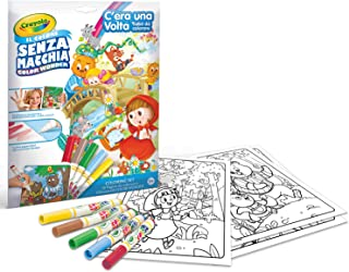 Crayola Color Wonder Fairytales, Mess Free Coloring Pages & Markers, Gift for Kids, Age 3, 4, 5, 6