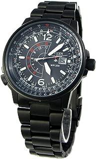 Citizen Promaste Sky Nighthawk Eco-Drive Movement Black Dial Men's Watch BJ7019-62E