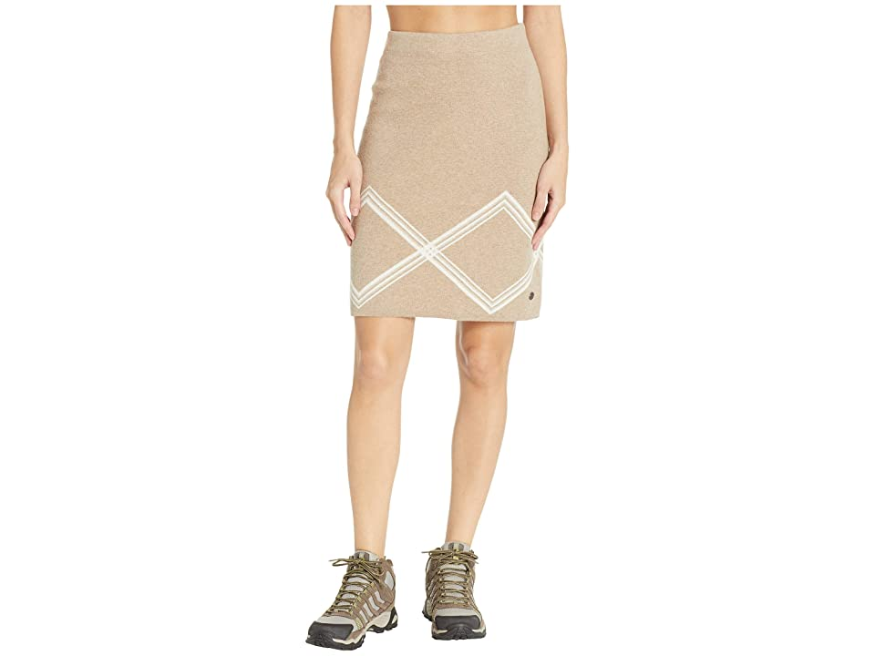 Royal Robbins All Season Merino Skirt (Oatmeal) Women